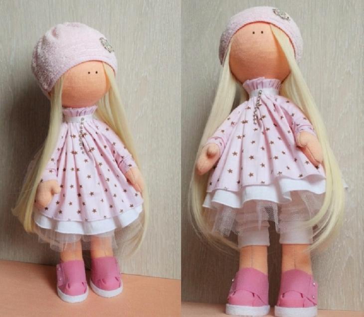 Еще один вариант куклы большеножки