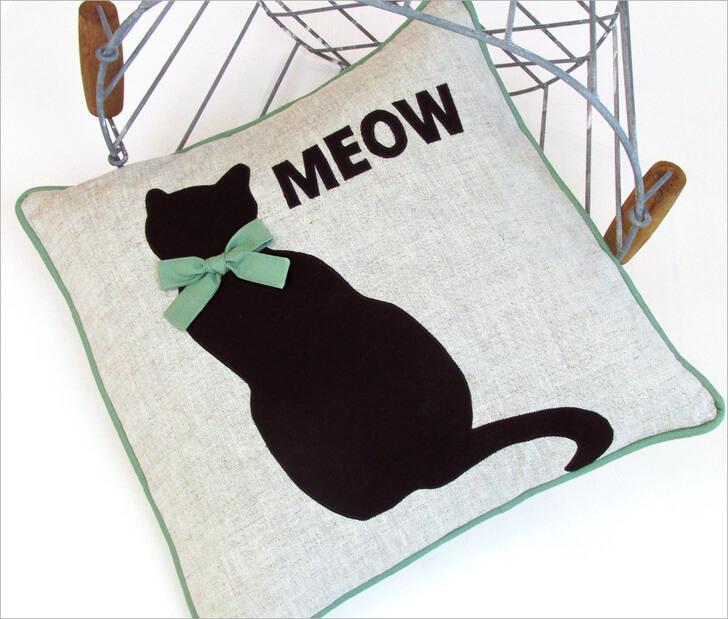 Наволочка Чёрный кот